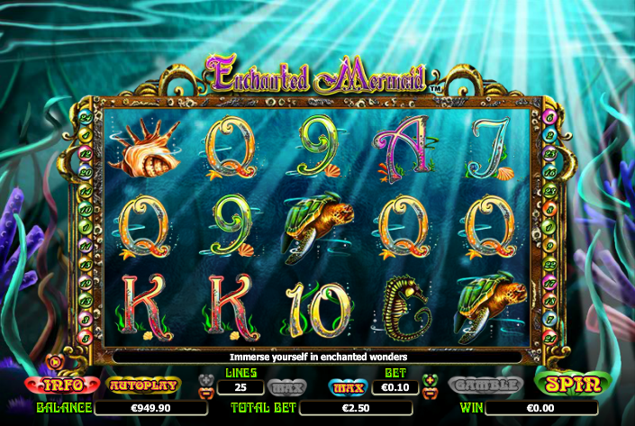 Enchanted Mermaid Slot Review & Guide for Players Online