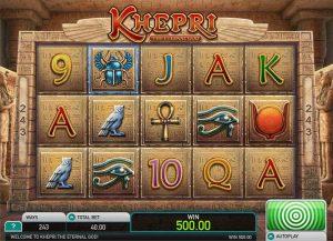 Throwing Light on Khepri Online Slot by Leander Games