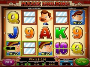 Magic Building Online Slot Game Review for Players of Real Money Casino Sites