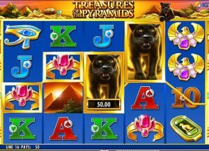 Details about Treasures of the Pyramids Spielo Video Slot